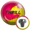 Motiv Thrill Pink/Yellow Pearl Bowling Ball and Core