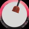 Columbia 300 White Dot Pink/Black Bowling Ball core