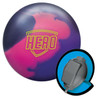 Brunswick Hero Solid Bowling Ball and Core