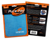 Genesis Pure Ultra Performance Bowling Ball Wipe Pad - Blue - in package