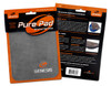Genesis Pure Ultra Performance Bowling Ball Wipe Pad - Gray - in package