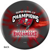 OTTB Tampa Buccaneers Bowling Ball Super Bowl 55 Champions