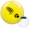 900 Global Honey Badger Yellow Poly Bowling Ball