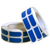 "Turbo Electric Blue Grip Strips 3/4"" Bowling Tape - 500 Roll Bulk Roll"