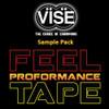 Vise Feel Proformance Tape Sample Pack - 1 Inch