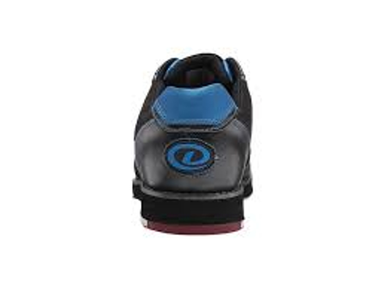 b8ace88bfe8 ... Dexter SST 8 Pro Mens Bowling Shoe Black Blue - back of shoe ...