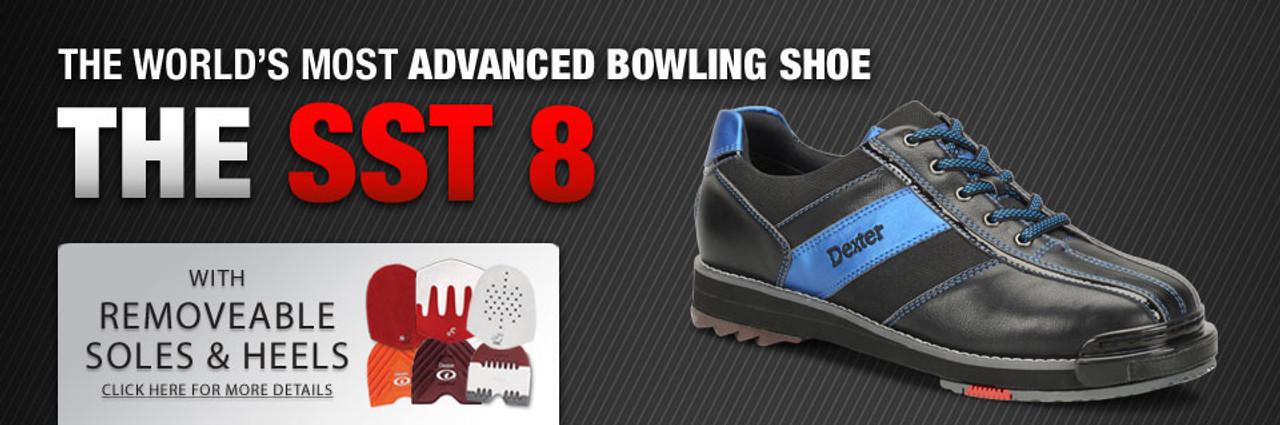 30d09b63f96 ... Dexter SST 8 Pro Mens Bowling Shoe Black Blue - advertisement