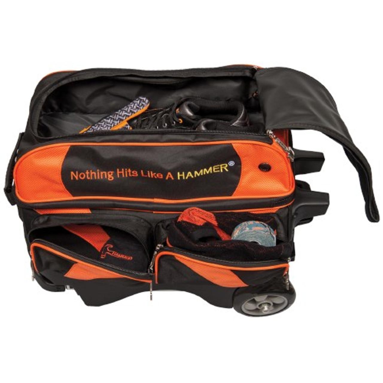 Hammer Premium 4 Ball Roller BLACK//ORANGE Bowling Bag