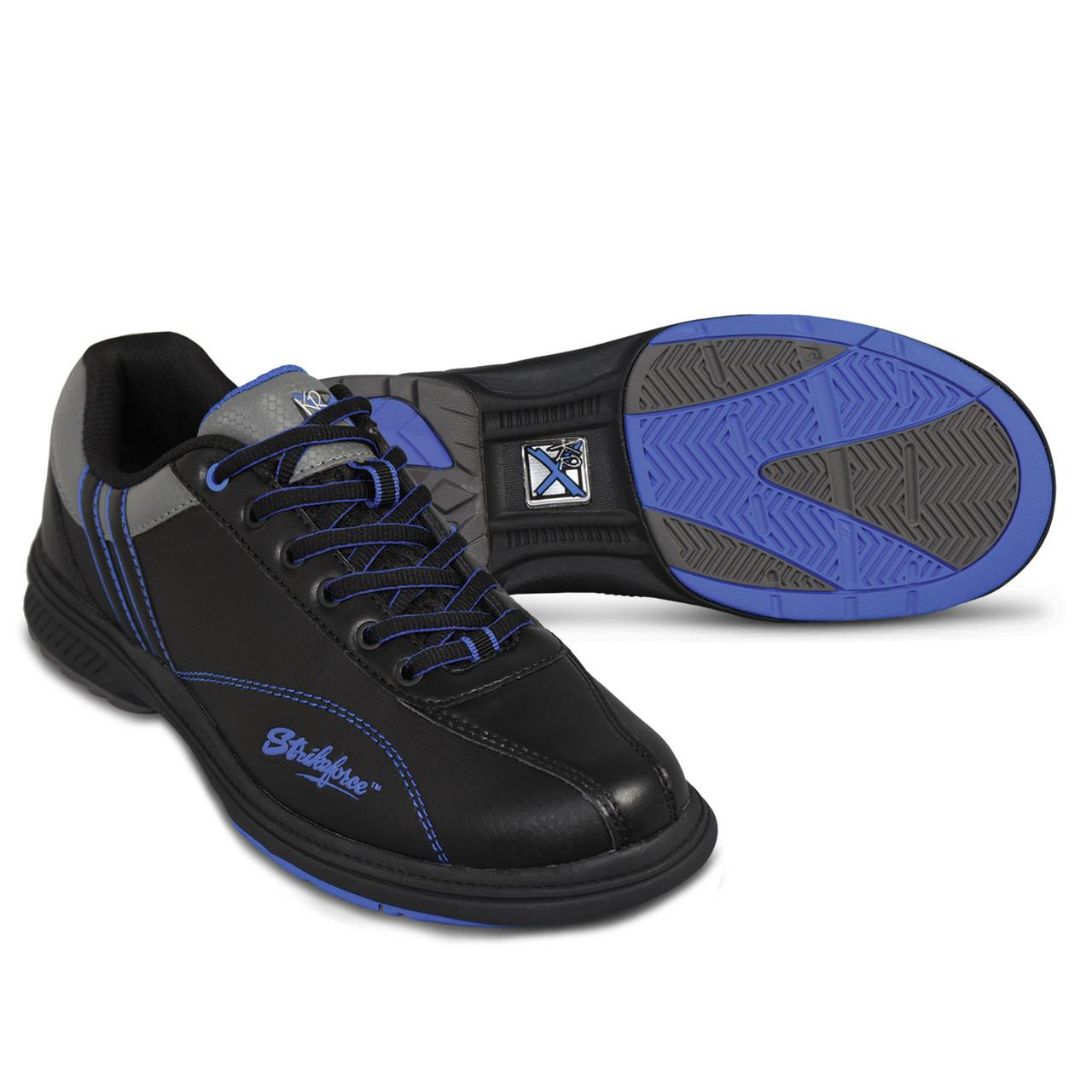 1fb0a78dda KR Strikeforce Mens Raptor Bowling Shoes Black/Royal Left Handed