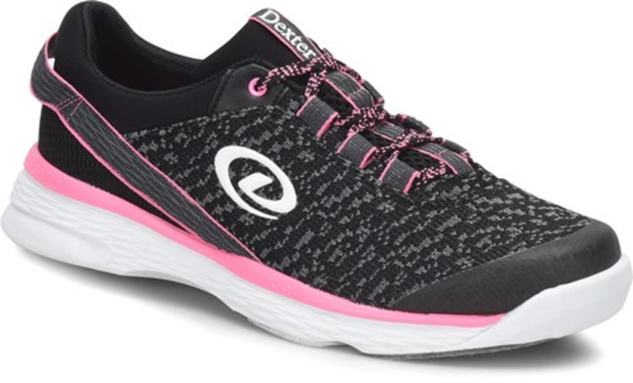Dexter Jenna II Black//Grey//Pink Womens Bowling Shoes