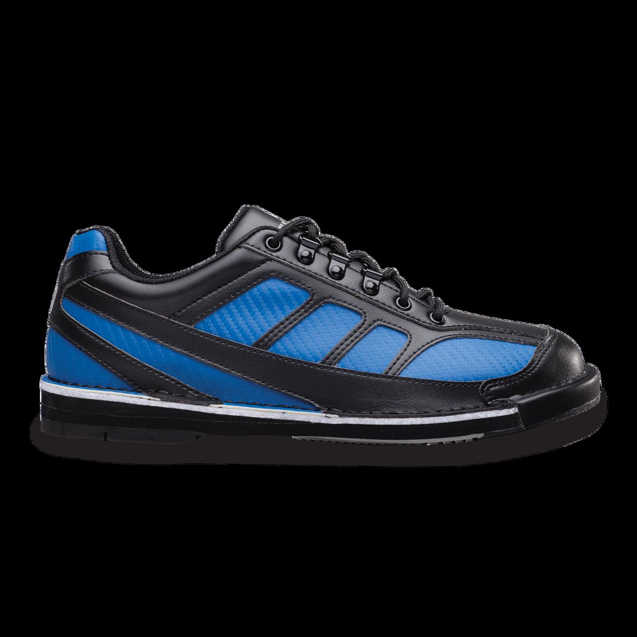 b7c47af5fe1 Brunswick Phantom Mens Bowling Shoes Black Royal Carbon Fiber Left Handed  ...
