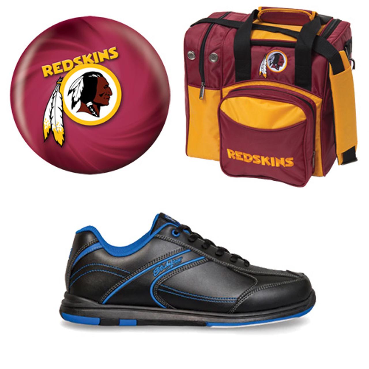 ceab9e30 Washington Redskins Ball, Bag and Shoes Mens Package