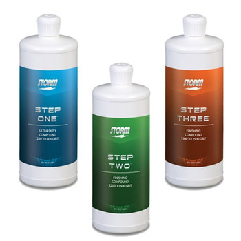 Storm Pro Finishing Steps 1-2-3 Package - old label