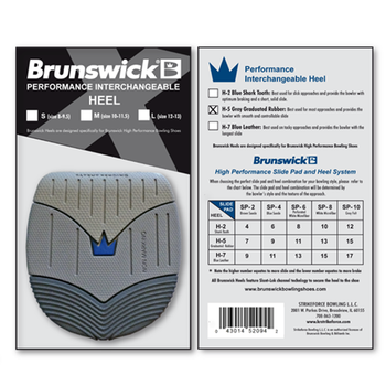 Brunswick Replacement Heel - H-5