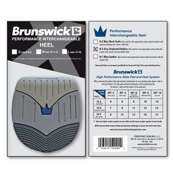 Brunswick Replacement Heel - H-5