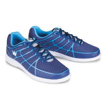 Brunswick Aura Womens Bowling Shoes Navy/Baby Blue
