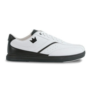 Brunswick Vapor Mens Bowling Shoes - White/Black
