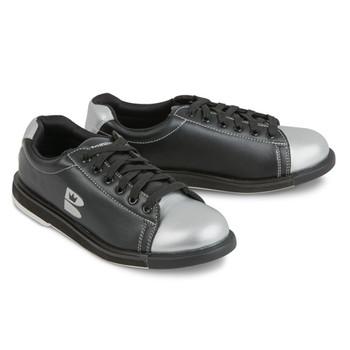 Brunswick TZone Unisex Bowling Shoes Black/Silver