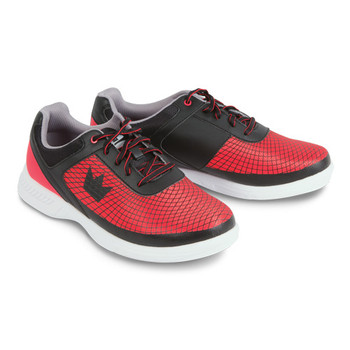 Brunswick Frenzy Mens Bowling Shoes Black/Red - Wide