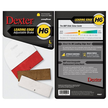 Dexter Replacement Heel - Leading-Edge - Size Large