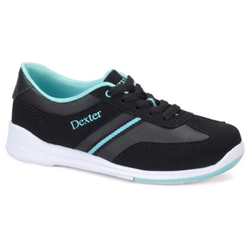 Dexter Dani Womens Bowling Shoes - Black/Turquoise