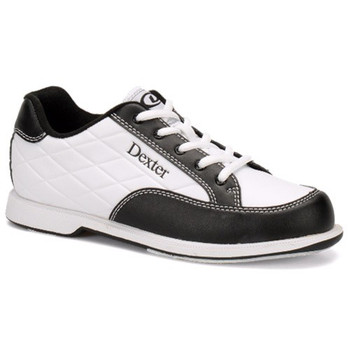 Dexter Groove III Womens Bowling Shoes - White/Black