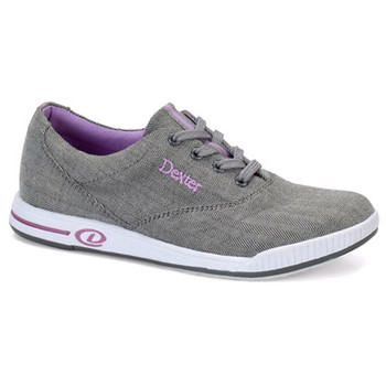 Dexter Kerrie Bowling Shoes Womens - Grey/Lavender