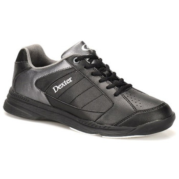 Dexter Ricky IV Mens Bowling Shoes - Black/Alloy Trim