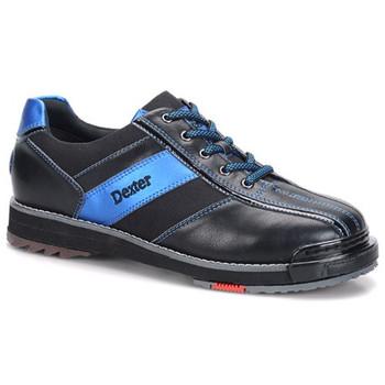 Dexter SST 8 Pro Mens Bowling Shoe Black/Blue - traction shoe