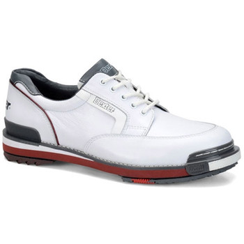 Dexter SST Retro Mens Bowling Shoes - White/Grey/Red