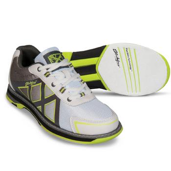 KR Strikeforce Kross Womens Bowling Shoes - White/Grey/Yellow