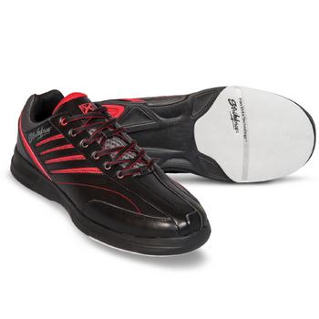 KR Strikeforce Crossfire Lite Mens Bowling Shoes - Black/Red