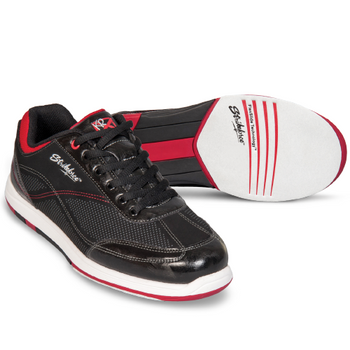 KR Strikeforce Titan Mens Bowling Shoes - Black/Salsa