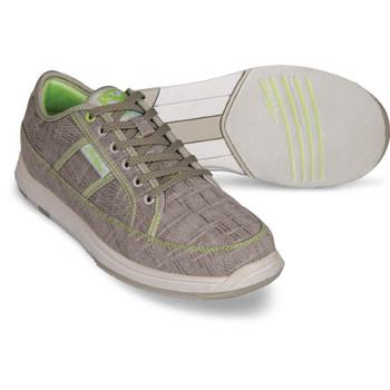 KR Strikeforce Ivy Womens Bowling Shoes - Ash/Lime Green