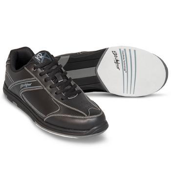 KR Strikeforce Flyer Mens Bowling Shoes - Black - WIDE