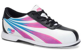 Storm Skye Womens Bowling Shoes White/Black/Multi Color