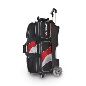 900 Global 3 Ball Deluxe Roller Black/Red/Silver