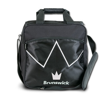 Brunswick Blitz Single Tote - Black Bowling Bag