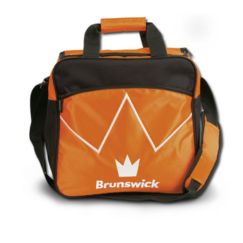 Brunswick Blitz Single Tote - Orange Bowling Bag