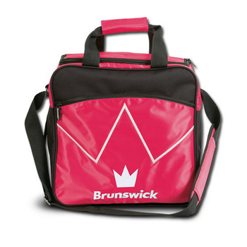 Brunswick Blitz Single Tote - Pink Bowling Bag
