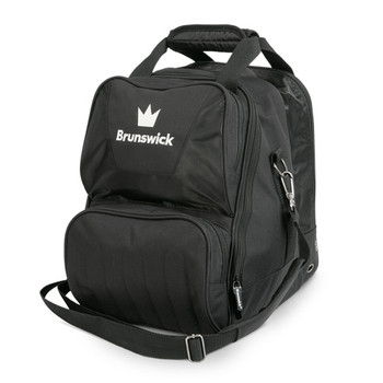 Brunswick Crown Single Tote - Black Bowling Bag