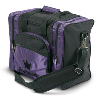 Brunswick Edge Single Tote - Purple