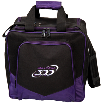 Columbia White Dot Single Bag - Purple - Bowling Bag
