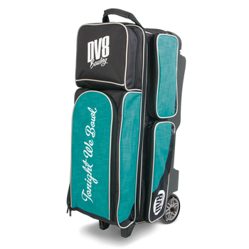 DV8 Circuit Triple Roller - Teal - Bowling Bag