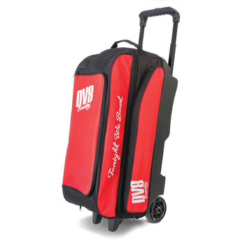DV8 Freestyle Triple Roller - Red - Bowling Bag