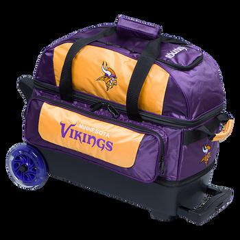 KR Strikeforce NFL Minnesota Vikings 2 Ball Roller Bowling Bag