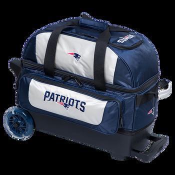 KR Strikeforce NFL New England Patriots 2 Ball Roller Bowling Bag