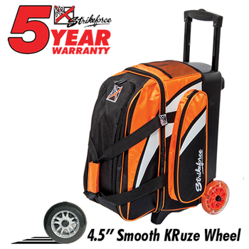 KR Strikeforce Cruiser Smooth 2-Ball Roller - Orange/White/Black