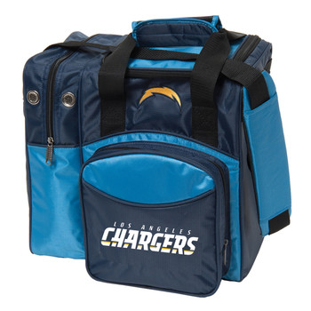 KR Strikeforce NFL Los Angeles Chargers 1-Ball Bowling Bag