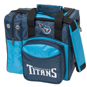 KR Strikeforce NFL Tennessee Titans 1-Ball Bowling Bag
